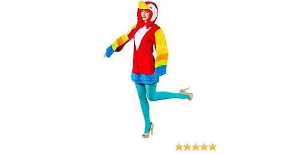 Orlob Disfraz de Loro para Mujer Disfraz de pajarito Animal ...