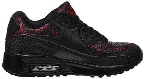 BEPPI Casual 2152470, Zapatillas de Deporte para Mujer Negro (Black)