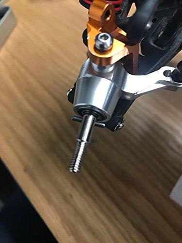Raidenracing HPI 101228 109921 XS Flux WR8 Bullet ST Harden Steel Super Heavy Duty Axle Shaft