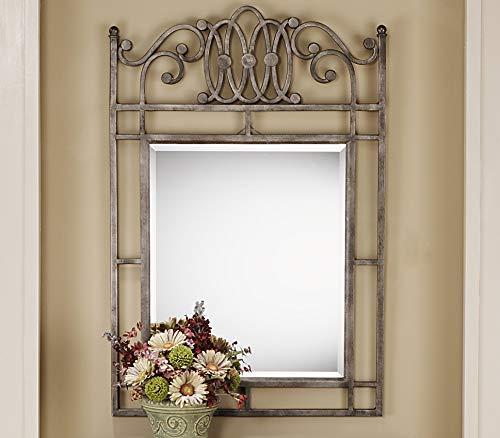 - Hillsdale Montello Console Mirror, Old Steel