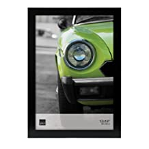 Kiera Grace Langford Wood Poster Picture Frame, 12-Inch by 18-Inch, Black