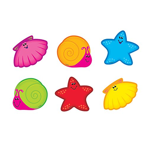 TREND enterprises, Inc. Seashore Friends Mini Accents Variety Pack, 36 ct -
