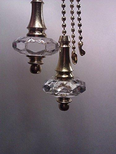 Crystal Tear drop Fan-light Pull Chain (Teardrop Pull Fan)