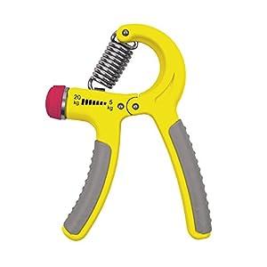 SPOKEY® CRAMP Fingerhantel Grip-Trainer 5-20kg Gelb // 20-40 kg Schwarz //...