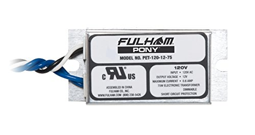 Fulham PET-120-12-75 Low Voltage Transformer by Fulham Lighting