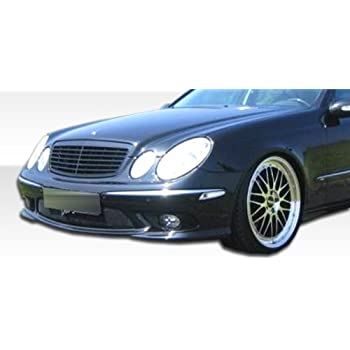 2003 2006 mercedes benz e55 w211 duraflex amg look front bumper cover 1 piece. Black Bedroom Furniture Sets. Home Design Ideas