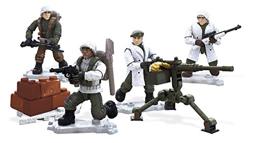Mega Construx Call of Duty Winter Troop Pack Building Stacking Toys