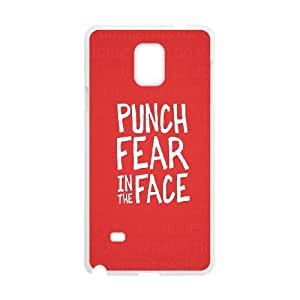 Samsung Galaxy Note 4 Cell Phone Case White Punch Fear OJ481775
