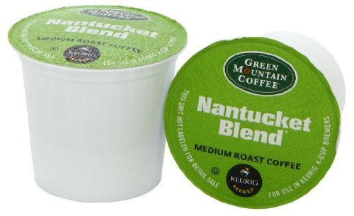 Green Mountain Coffee Nantucket Blend, K-Cup for Keurig Brewers, 100 Count (Green Mountain Nantucket Blend K Cups Best Price)