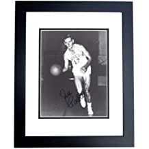 Jim Pollard Signed - Autographed Minneapolis Lakers - Los Angeles Lakers 8x10 inch Photo - BLACK CUSTOM FRAME - Deceased 1993 Hall of Famer - Guaranteed to pass PSA or JSA