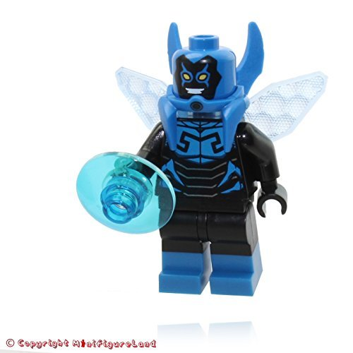LEGO DC Super Heroes Blue Beetle Minifigure Mini Fig for sale  Delivered anywhere in USA