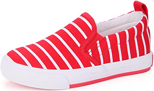 ppxid-boys-girls-stripe-canvas-slip-on-loafer-flats-casual-school-shoes-plimsolls-red-12-us-little-k