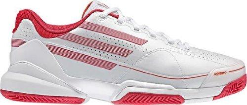 Adidas adiZero Feather Clay Court white/pink (41 1/3-UK 7,5)