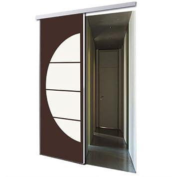 tixelia – Puerta Corredera de galandage 1 vantail diseño obu ...