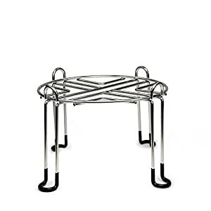Berkey Water Filter Stainless Steel Wire Stand with Rubberized Non-skid Feet for the ROYAL Berkey and Other LARGE Sized Gravity Fed Water Filters - Raises your Berkey 6 inches