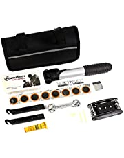 CoWalkers Diseño Compacto 16 en 1 Kits de Herramientas de reparación de Llantas para Bicicletas, Ciclismo de Uso múltiple, Conjunto Completo + Mini Bomba portátil
