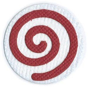(QUICKUTZ We R Memory Keepers 2-Inch by 2-Inch Die, Peppermint Candy, Swirl)