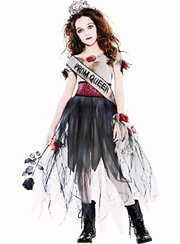 HalloCostume Girls Prom Corpse Costume, Halloween Costumes for
