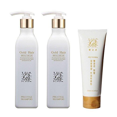 Herbal Hair Loss Fast Regrowth Gold Hair Loss Shampoo x2e...
