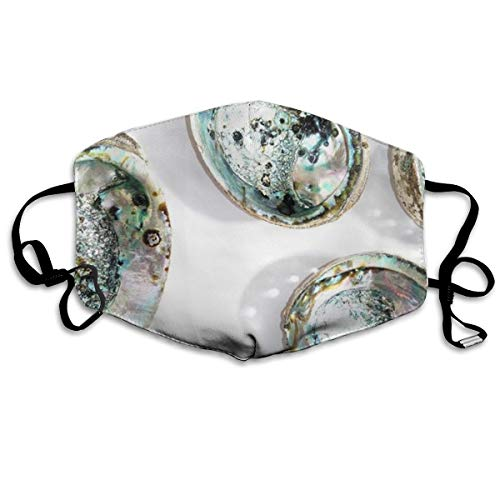 FYVUV Abalone Shell Anti Dust Face Mouth Cover Mask for sale  Delivered anywhere in USA