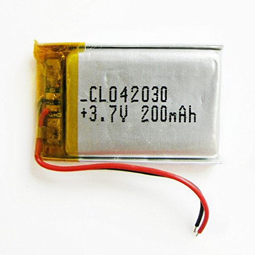 Polymer Gps Battery - Ofeely 3.7V 200mAh 402030 Lithium Polymer Li-Po Battery li ion Rechargeable Battery For Mp3 MP4 MP5 GPS