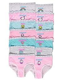 Girls Days Of The Week Underwear | Briefs 14-Pack Size 6X