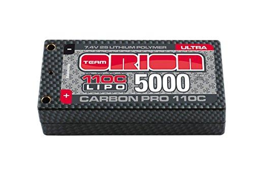 Team Orion Carbon Pro Ultra 7.4V 5000 Shorty 25mm 5mm Tubes