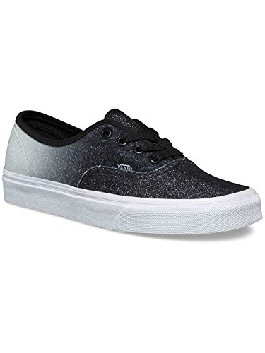 Vans Unisex Adults' Authentic Low-Top Sneakers (2 tone glitter) silver/b