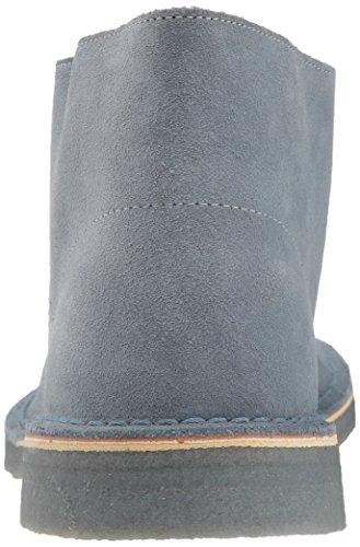 Men's Boot CLARKS Chukka Blue Suede Desert Grey 811qw7PH