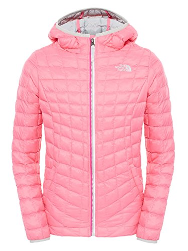 The North Face Girls ThermoBall Hoodie Gem Pink X-Large by The North Face