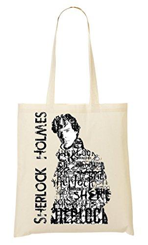 Sherlock Typography Bolso De Mano Bolsa De La Compra