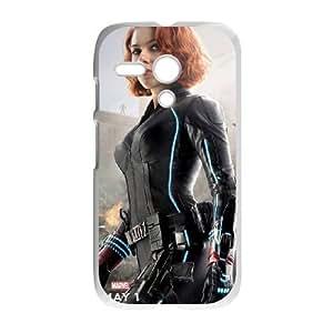 Black Widow Motorola G Cell Phone Case White TPU Phone Case SY_820004