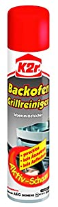 K2r Backofen-Grillreiniger Spray, 3er Pack (3 x 400 ml)