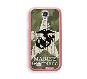 Cool Painting Shawnex US Marine Girlfriend Camo ThinShell Protective Pink Plastic Samsung Galaxy S4 Case - Galaxy i9500 Case Snap On Case