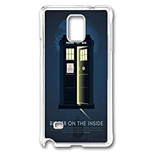 Samsung Note 4 Cases VUTTOO Doctor Who 20 Polycarbonate Hard Case Back Cover for Samsung Note 4 ¡§CTransparent