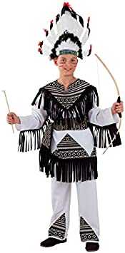 DISBACANAL Disfraz Indio Cherokee para niño - -, 6 años: Amazon ...
