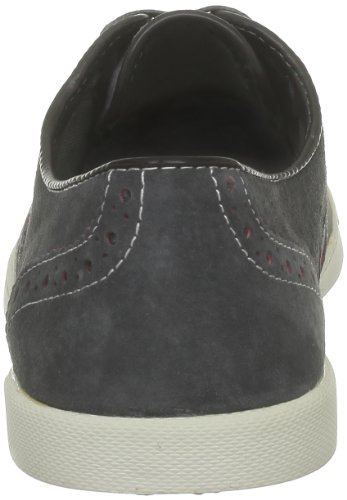 Hush Puppies Heren Carver Oxford Grey Suede