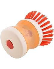 فرشاة غسيل الصحون من جينيريك- برتقالي