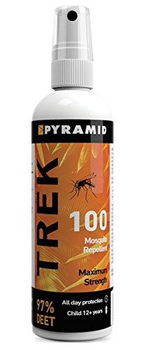 Mountain Warehouse Pyramid Insektenschutz Spray - 100% Deet 120ml Reise Urlaub Camping Ein One Size