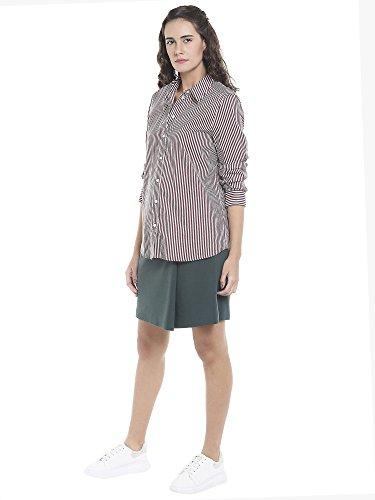 snow Vero Zinfandel White Blouse Vmeia Shirt Moda Stripes Femme Zinfandel LS Multicolore rqrwzB