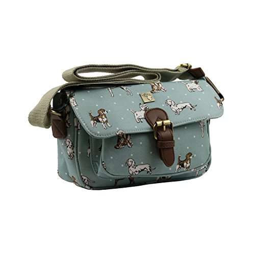Mano Blue Para Cartera Of Dogs Mujer House Tweed De RSPZgInq