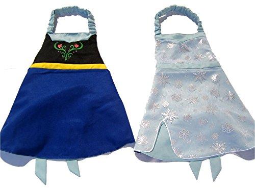 Bibbidi Boutique Princess Dress Up Apron Costume Reversible (Snow Sisters) ()