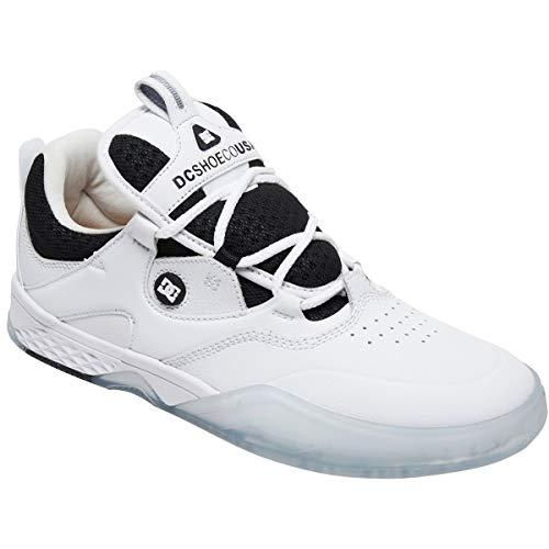 10fac30f0d625 DC Kalis S Manolo (White) Men's Skate Shoes-11