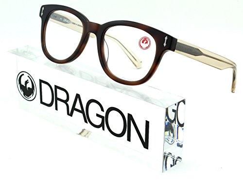 Dragon Alliance DR153 Sam Unisex Rectangular Eyeglasses (Soft Tortoise Frame 750, - Sunglasses Dragon Sale