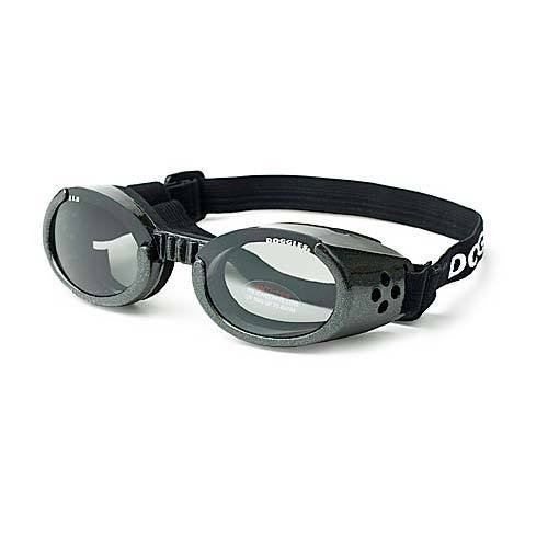 ILS Lense Dog Goggles in Chrome Size-See Chart Below: Small by Doggles
