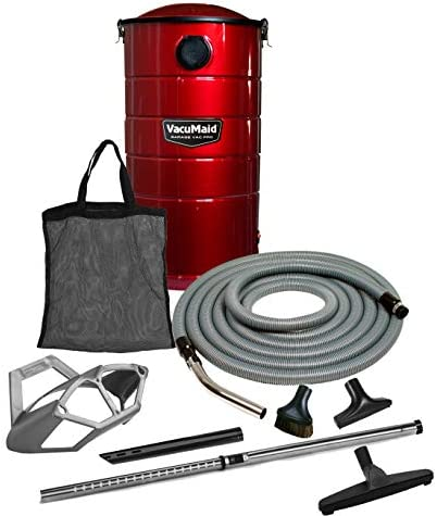 VacuMaid GV50RPRO Professional Wall Mounted Garage and Car Vacuum