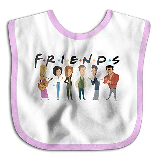 Price comparison product image Friends TV Show Comfortable Soft Baby Bibs Unisex Bibs For Teething Toddlers