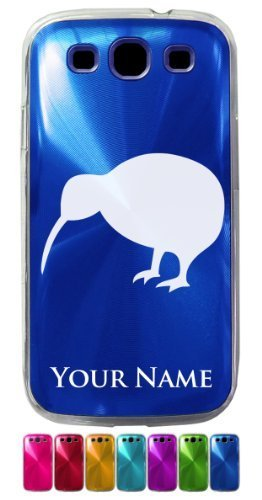 Personalized Case for Galaxy S3 Siii - KIWI BIRD - Engraved for Free