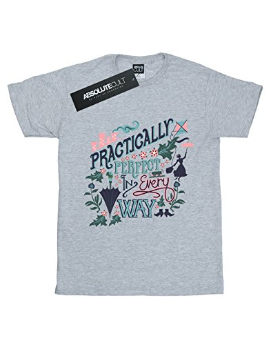 Gris T Practically Mary Poppins Sport Disney Homme shirt xf0qF