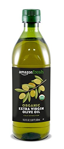 AmazonFresh Organic Extra Virgin Olive Oil, 500 ml (16.9 FL OZ)
